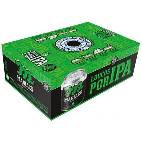 Cooler Box da Cerveja Maniacs IPA com 12 Latas