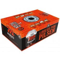 Cooler Box da Cerveja Maniacs Pilsen com 12 Latas