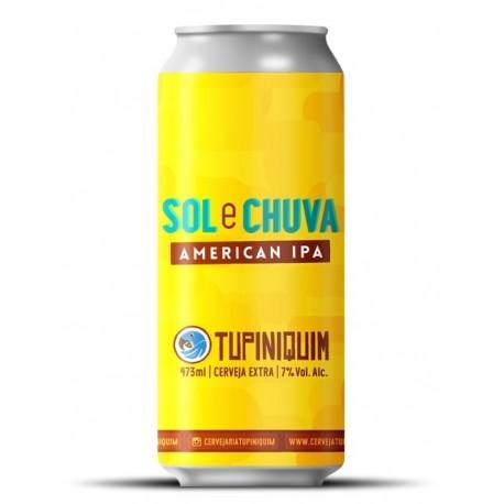 Cerveja Tupiniquim Sol e Chuva 473ml