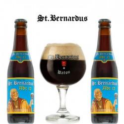 Kit Degustação St. Bernardus Abt 12 com 2 Cervejas e 1 Copo