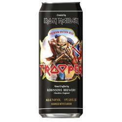 Cerveja Inglesa Iron Maiden Trooper Lata 500ml