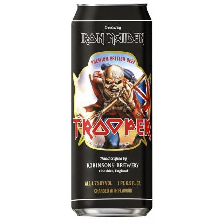 Cerveja Inglesa Iron Maiden Trooper Lata 500ml
