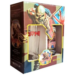 Kit Iron Maiden Trooper com 1 Cervejas e 1 Copo